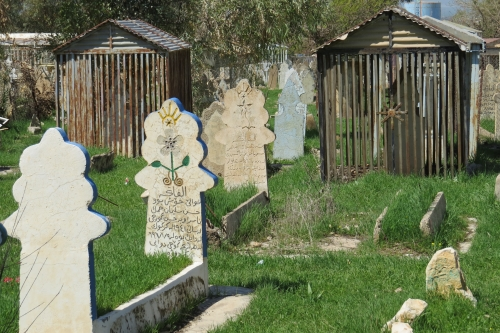Kerkhof in Halabja