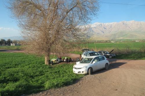 Picknicken op z'n Koerdisch