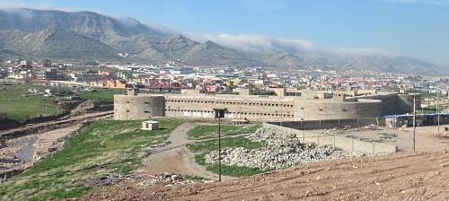 Voormalig fort uit de tijd van Saddam