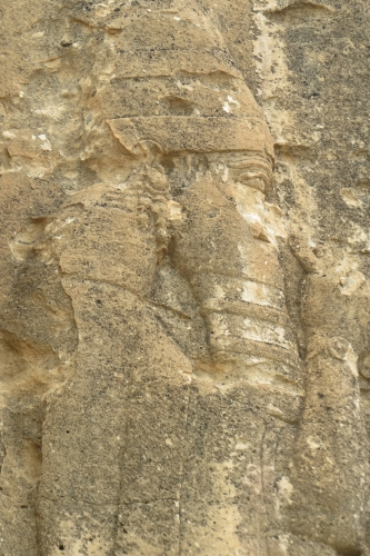 Typisch Assyrische figuur
