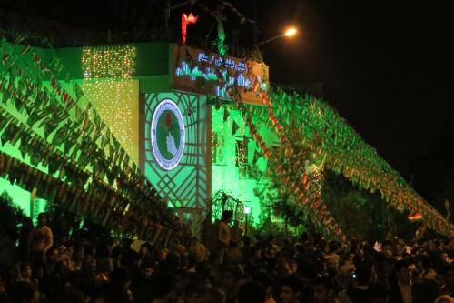 Feest is het ook bij het partijkantoor van de PUK, de traditionele partij van deze stad.